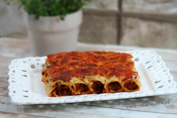 Cannelloni Z Miesem Mielonym A Dupa Rosnie Przepisy