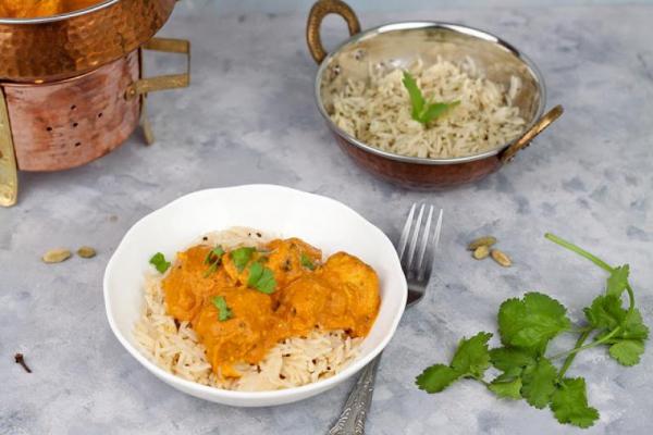 Kurczak Makhani A Dupa Rośnie Przepisy Kulinarne