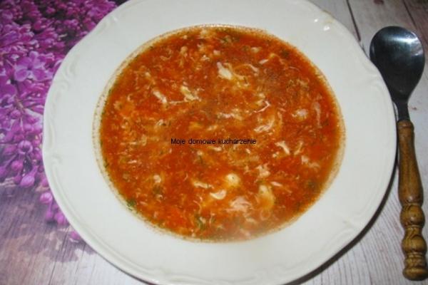 Chinska Zupa Pomidorowa Z Jajkiem A Dupa Rosnie Przepisy