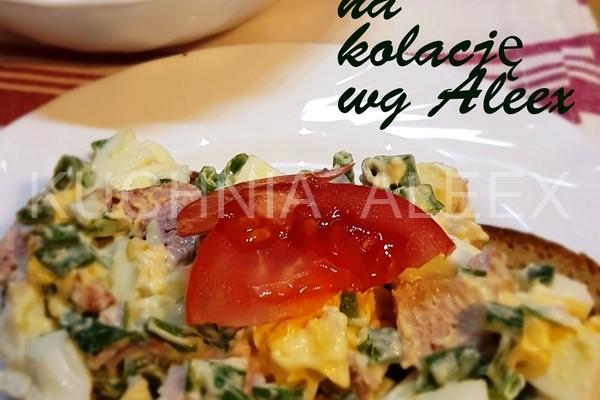 Salatka Na Kolacje Wg Aleex A Dupa Rosnie Przepisy Kulinarne