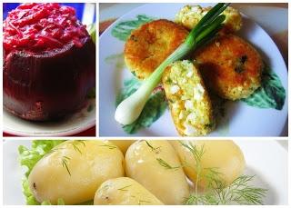 Tani Szybki Obiad Kotlety Jajeczne Z Ziemniakami I Buraczkami Na