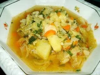 Zupa Z Kapusty Wloskiej A Dupa Rosnie Przepisy Kulinarne