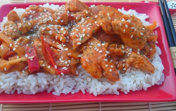 Kurczak Po Chinsku Z Warzywami A Dupa Rosnie Przepisy