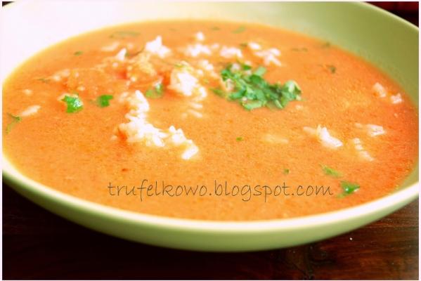 Zupa Pomidorowa Z Ryżem A Dupa Rośnie Przepisy Kulinarne