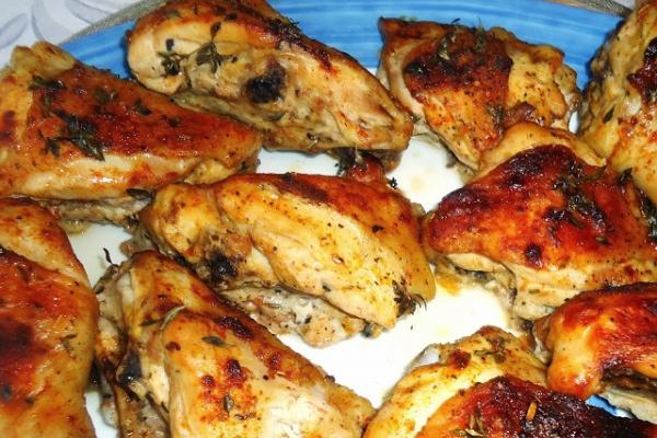 Kurczak Z Piekarnika Rumiany I Mieciutki A Dupa Rosnie