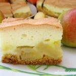 Kruche ciasto z jablkami ...