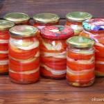 Sałatka z pomidorów na...