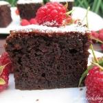 Ciasto czekoladowe z...