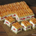 Ciasto z truskawkami dla ...