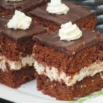 Ciasto czekoladowe malibu...
