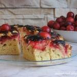 Ciasto z mirabelkami