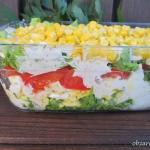 Szybka salatka z jajkami