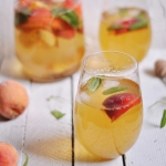 Green Ice Tea with peach...