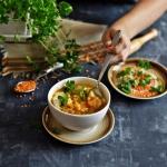 Linsensuppe - zupa z...