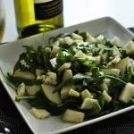Salatka z winem, gruszka ...