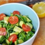 Kubanska salatka z awokad...
