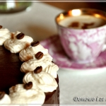 Tort kawowo - chałwowy...