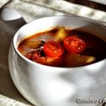 Zupa z pieczonych warzyw...