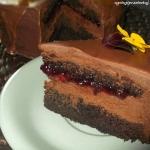 Tort czekoladowa pokusa
