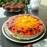 Lekki tort owocowy na...