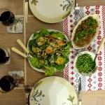 Stek z poledwicy z zielon...