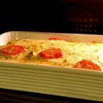 Lasagne z grillowanym bak...