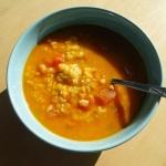 Nieco orientalna zupa...
