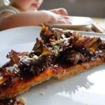 Wegańska pizza...