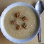 Biała zupa z pieczonych...