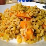 Ryż z dynią na ostro