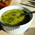 Zielona zupa...
