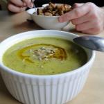 Zielona zupa krem....