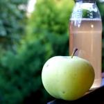 Sok jabłkowy z sokownika