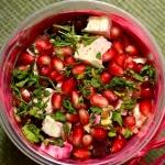 Salatka z pieczonych bura...
