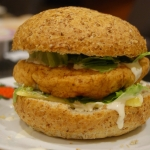 Burger z kurczakiem -...
