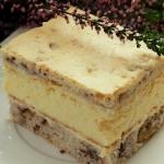 Ciasto serowo-orzechowe...