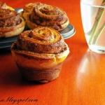 Muffiny różyczki...