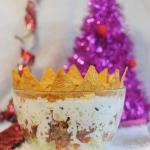 Krol imprezy, salatka
