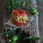 Pomidory nadziewane...