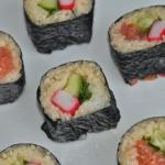 Sushi z jarmużem,...