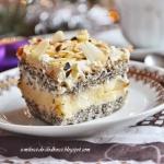 Ciasto makowo - budyniowe...