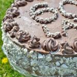 Klasyczny tort z kremem...