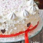 Tort chałwowo -...