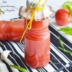 Sok pomidorowy z bazylią