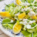 Zielona salatka