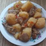 Ziemniaki z mieskiem piec...
