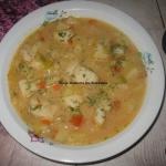 Zupa z rybą i jabłkiem