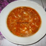 Chińska zupa pomidorowa...