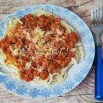 Spaghetti bolognese z...