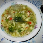 Zupa z kapusta wloska